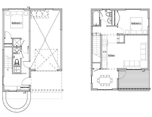 The Compound #8 - 2 Bdrm - Red Mountain
