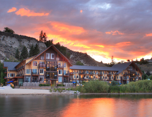 Summerland Waterfront Resort - 2 Bdrm Partial Lakeview - Summerland