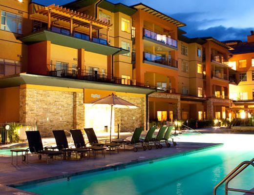 Watermark Beach Resort - 1 Bdrm + Den City View- Osoyoos