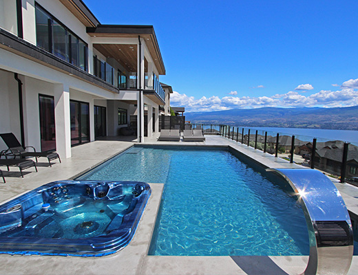 Royal Residence - 5 Bdrm w/ Pool HT - West Kelowna (CVH)