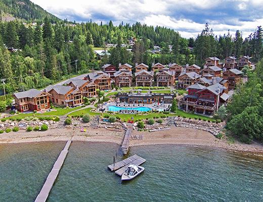 Carmel Cove Resort #23 - 3 Bdrm Upper Lake View - Shuswap