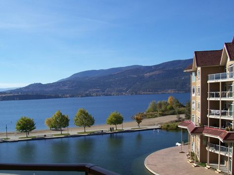 Sunset Waterfront Resort - #706 - 2 Bdrm - Kelowna (KRA)