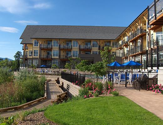 Summerland Waterfront Resort - 1 Bdrm Bluffview - Summerland